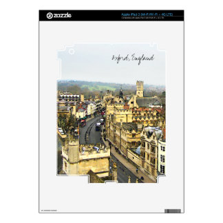Oxford, England, High St View Skins For iPad 3