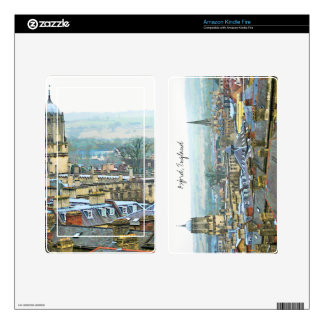 Oxford, England, Roof Top View Zazzle Skin Kindle Fire Skin