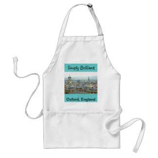 Oxford, England, Roof Tops, Simply Brilliant Adult Apron