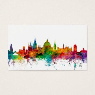 Oxford England Skyline Business Card