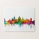 Oxford England Skyline Jigsaw Puzzle
