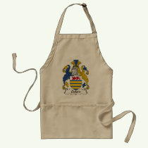 Oxford Family Crest Apron