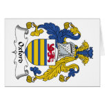 Oxford Family Crest Cards