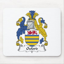 Oxford Family Crest Mousepad