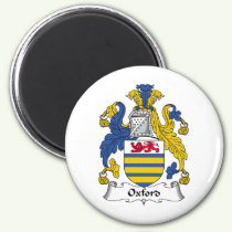 Oxford Family Crest Magnet