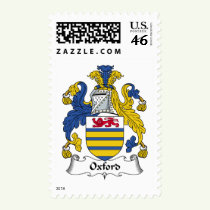 Oxford Family Crest Stamps