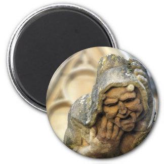 Oxford Gargoyle 2 Inch Round Magnet