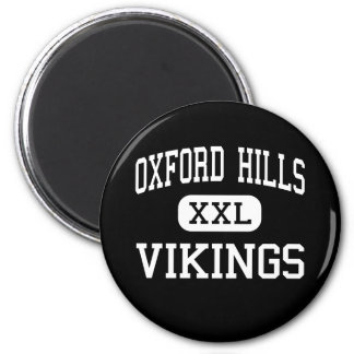 Oxford Hills - Vikings - South Paris 2 Inch Round Magnet