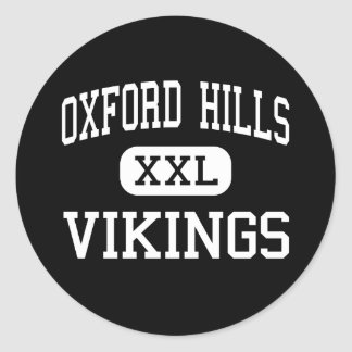Oxford Hills - Vikings - South Paris Classic Round Sticker