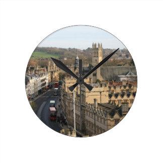 Oxford in Winter Clock - original photo
