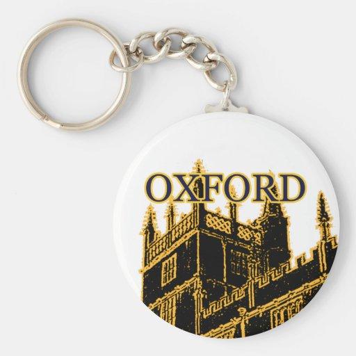 Oxford Inglaterra 1986 espirales constructivos Bro Llaveros Personalizados