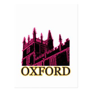 Oxford Inglaterra 1986 espirales constructivos mag Tarjeta Postal