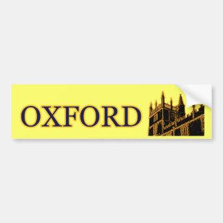 Oxford Inglaterra 1986 oros constructivos de los e Pegatina Para Auto