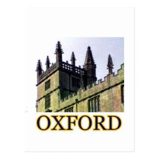 Oxford Inglaterra 1986 que construye tuerce en Tarjeta Postal