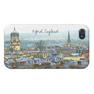 Oxford, Inglaterra, cubre la visión superior iPhone 4/4S Carcasa