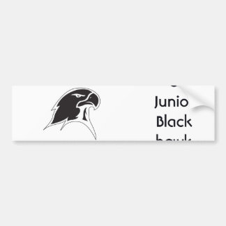 Oxford Junior Blackhawks Bumper Sticker