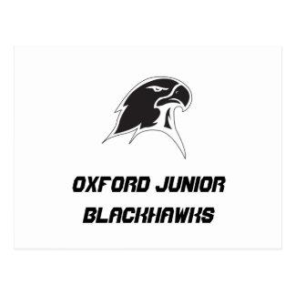 Oxford Junior Blackhawks Postcard