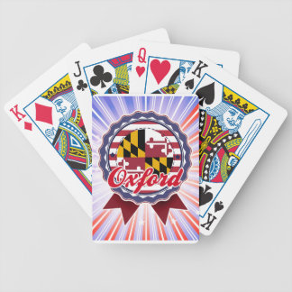 Oxford, MD Bicycle Poker Deck