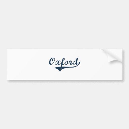 Oxford New York Classic Design Bumper Sticker