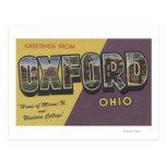Oxford, Ohio - Miami U & Western College Post Cards