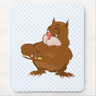 Oxford Owl Mouse Pad