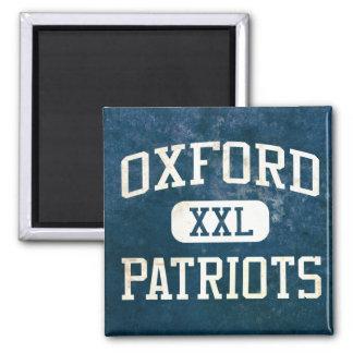 Oxford Patriots Athletics Fridge Magnet
