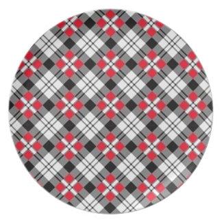 Oxford Plaid Plate