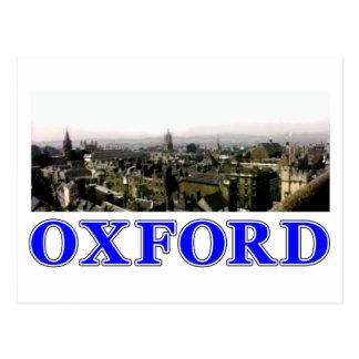 Oxford snapshot Panorama Rooftops 2 The MUSEUM Zaz Postcard