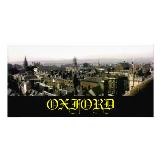 Oxford snapshot Panorama Rooftops The MUSEUM Zazzl Card
