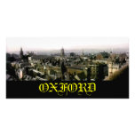 Oxford snapshot Panorama Rooftops The MUSEUM Zazzl Customized Photo Card