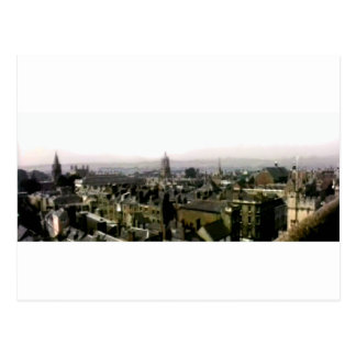 Oxford snapshot Panorama Rooftops The MUSEUM Zazzl Postcard