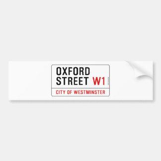 Oxford Street Bumper Sticker