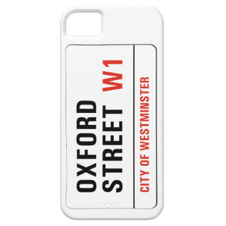 Oxford Street London Street Sign iPhone 5/5S Cases