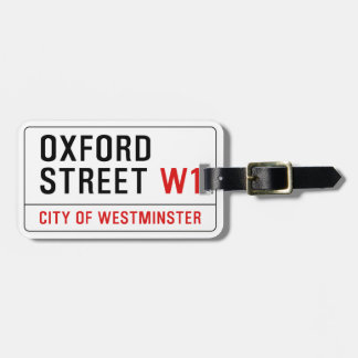Oxford Street Tags For Bags