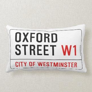 Oxford Street Throw Pillows