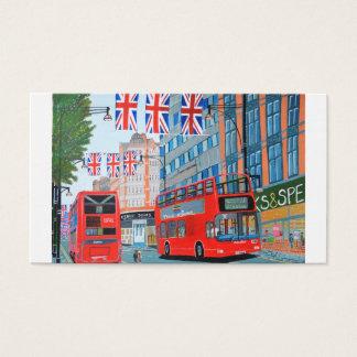 Oxford Street- Queen Dimond Jubilee Business Card