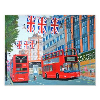 Oxford Street- Queen Dimond Jubilee Photo