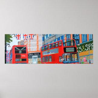 Oxford Street- Queen Dimond Jubilee Poster