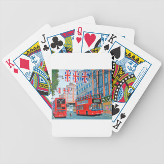 Oxford Street- Queen's Diamond  Jubilee Bicycle Playing Cards