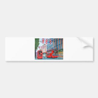 Oxford Street- Queen's Diamond  Jubilee Bumper Sticker