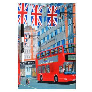 Oxford Street- Queen's Diamond  Jubilee Dry Erase Whiteboards