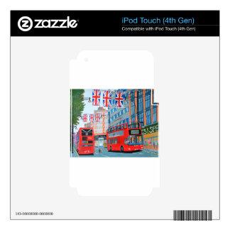 Oxford Street- Queen's Diamond  Jubilee iPod Touch 4G Skin