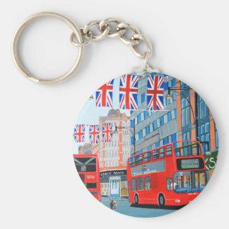 Oxford Street- Queen's Diamond  Jubilee Keychain