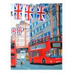 Oxford Street- Queen's Diamond  Jubilee Letterhead Design