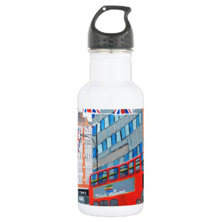 Oxford Street- Queen's Diamond  Jubilee Stainless Steel Water Bottle