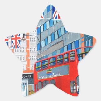 Oxford Street- Queen's Diamond  Jubilee Star Sticker