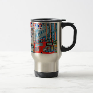 Oxford Street- Queen's Diamond  Jubilee Travel Mug