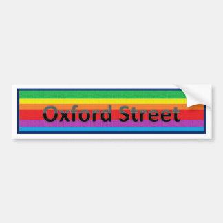 Oxford Street Style 2 Bumper Sticker
