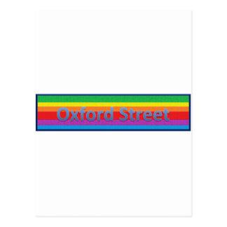 Oxford Street Style 3 Postcard