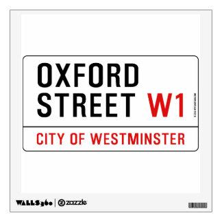 Oxford Street Wall Sticker